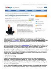 Literatur Onlinemarketing Überblick