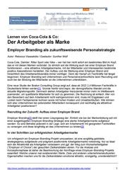 Literatur Der Arbeitgeber als Marke - Employer Branding als zukunftsweisende Personalstrategie