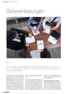 Zielvereinbarung verbessern: Mit Zielvereinbarung motivieren